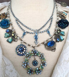 assemblage-necklace-blue